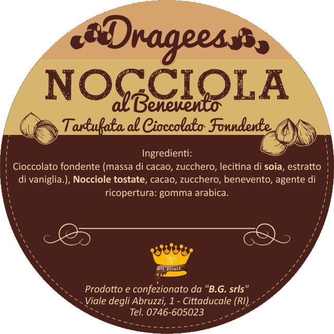 etichetta-dragees-nocciola-al-benevento-il-ducale