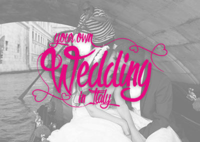 Your Own Wedding Day In Italy