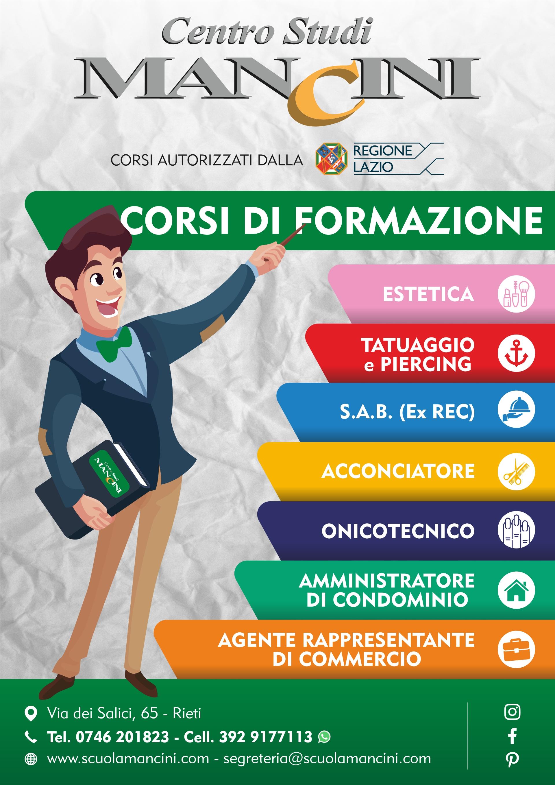 Locandina Centro Studi Mancini