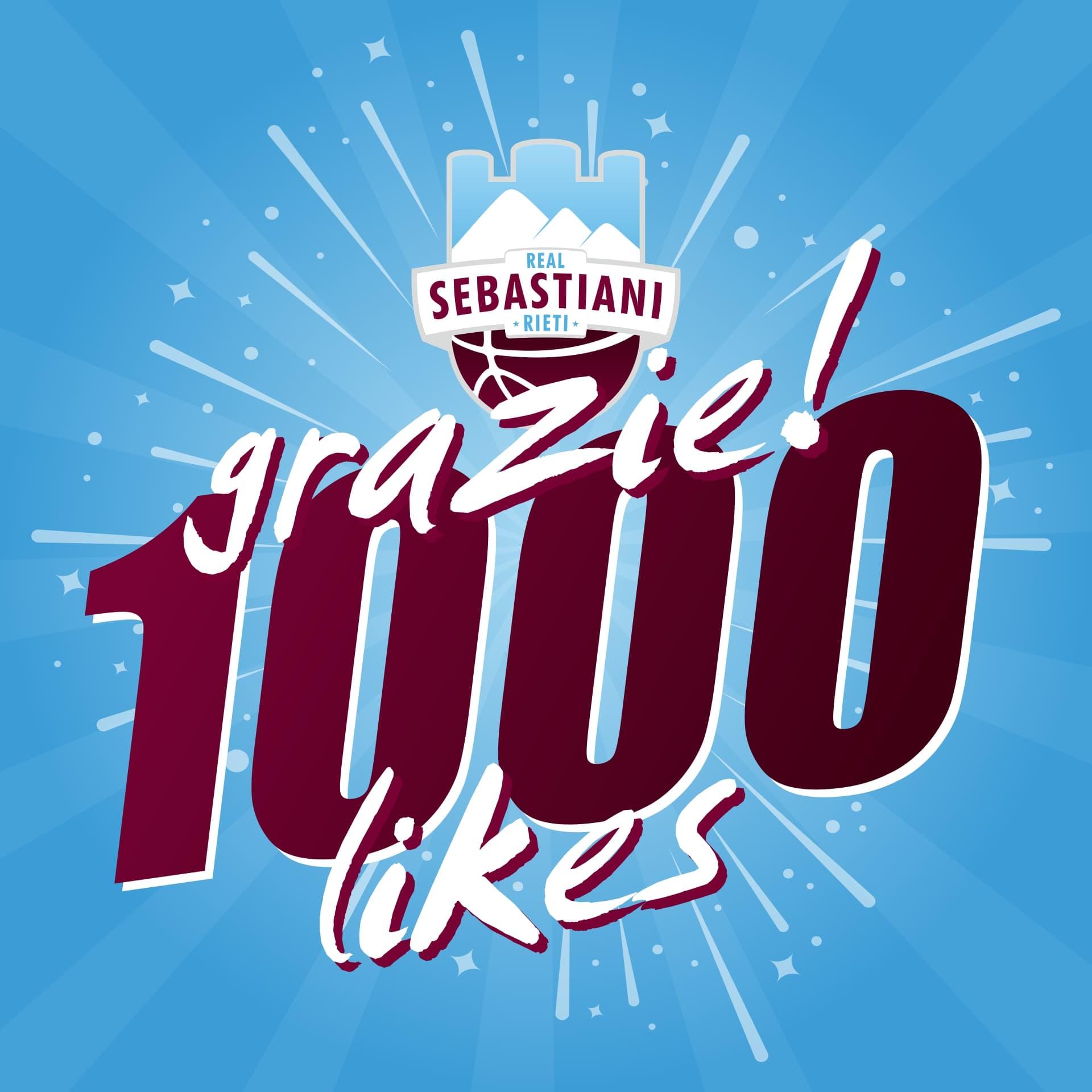 Real Sebastiani Rieti 1000 likes